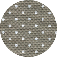 Linen - Belfast Petit Point - 32ct - Dark Cobblestone with White